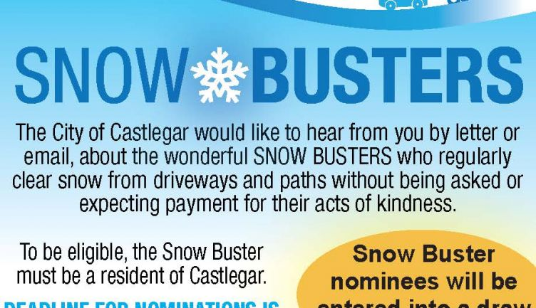 Snowbuster Award Nomination Deadline is March 15, 2019!