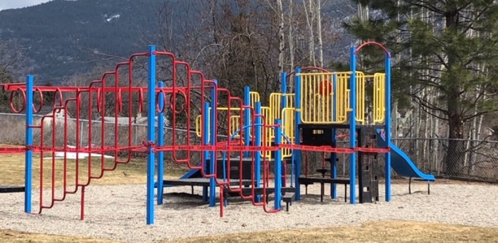 City Closing Playgrounds, Tennis and Pickleball Courts and Installing COVID-19 Signs at Parks
