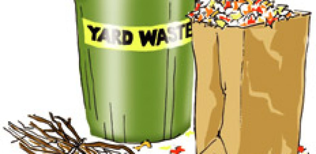 Residential Curbside Yard Waste Collection Happening This Week!